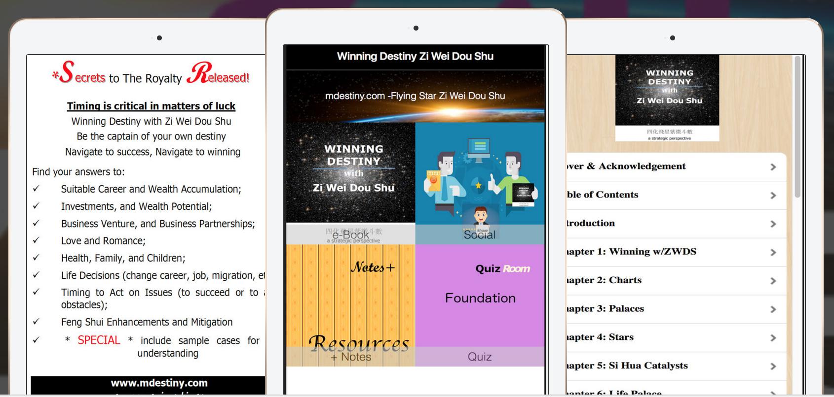 Flying Star Zi Wei Dou Shu app book @ iTunes App Store