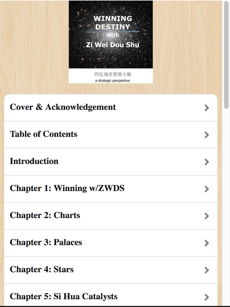 Interpreting Analyzing a Zi Wei Dou Shu chart
